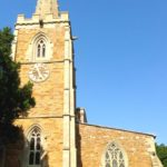 Church in Hungarton village in East Midlands and Leicestershire
