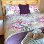Bedroom at Village Farm Getaway, holidays glamping and luxury camping in East Midlands and Leicestershire